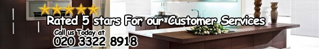 Rated 5 stars For our Customer Services Call Us Today at 020 3322 8918